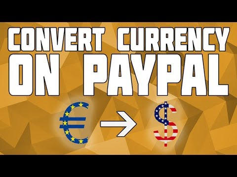 Convert Currency on Paypal! How to Change Currency on Paypal!