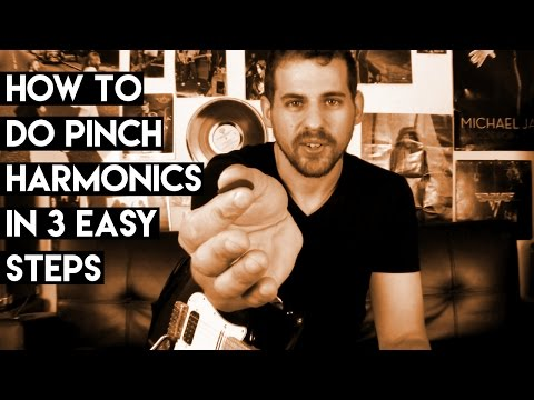 How To Do Pinch Harmonics in 3 Easy Steps