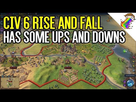 Civilization 6: Rise and Fall has Ups and Downs (Oddly Enough)