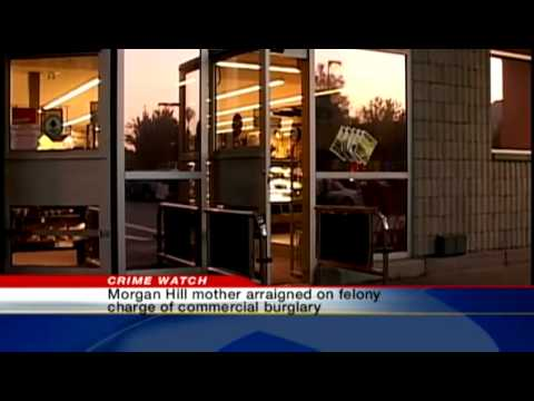 Morgan Hill mom who left daughter at Safeway in court