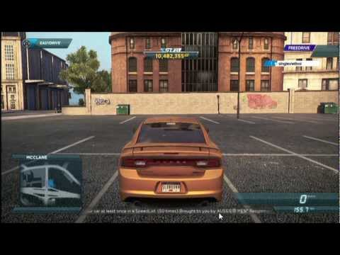 HOW TO UNLOCK: DODGE CHARGER SRT Need for Speed Most Wanted