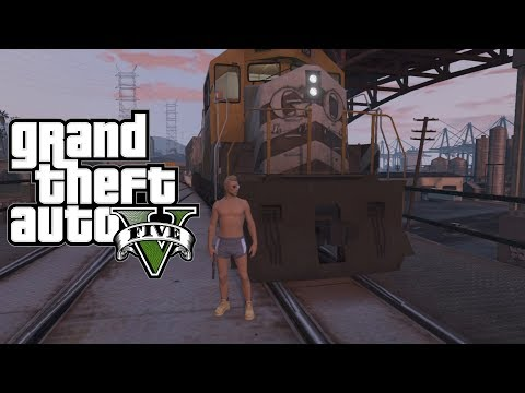 GTA 5 Online: How To Get Inside The Train Cockpit! ''Control Area'' (GTA 5 Glitches)