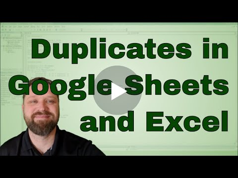 Highlight Duplicates in Excel and Google Sheets