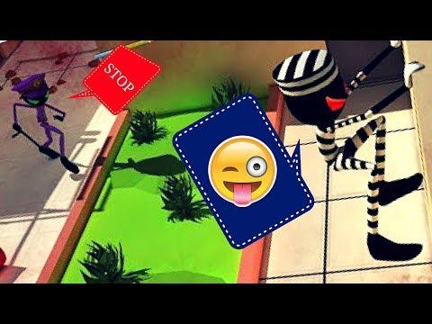 Jailbreak Escape Stickman's Challenge Gameplay - Funny Stickman Game