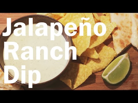 How to Make Creamy Jalapeño Dip (and Ranch Dressing) | Flavor Lab