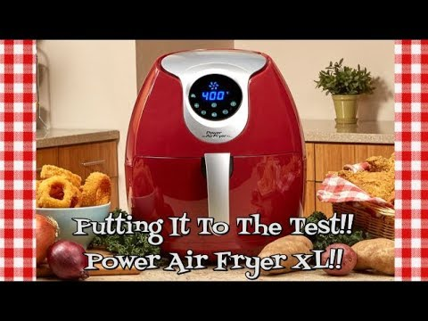 Power Air Fryer XL~Putting It To The Test~Air Fryer Demo & Review~Burgers & Fries~Noreen's Kitchen
