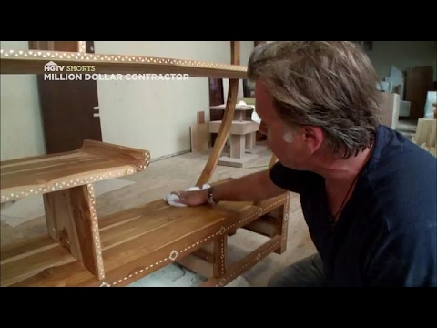 Apply Wax to Wood Furniture | Million Dollar Contractor | HGTV Asia