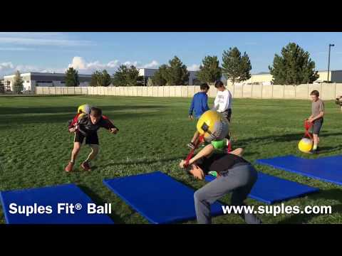Functional Training demonstrated by Suples Youth Wrestling Team with the Suples Fit Ball