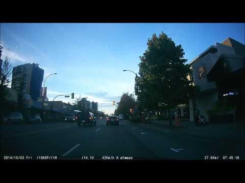 BMW runs red light North Vancouver