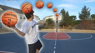 *INSANE* BASKETBALL CHALLENGES DRAFT!