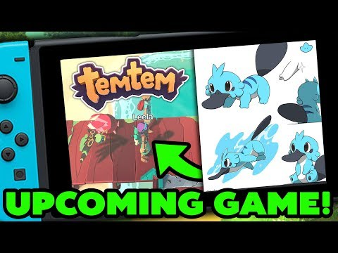 Temtem the Pokemon Style Game for PC & Switch (MMO Game,2018 & Pokemon Inspired)