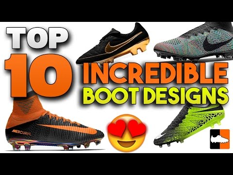 Top 10 Concept Boots - Incredible Custom Soccer Cleats!