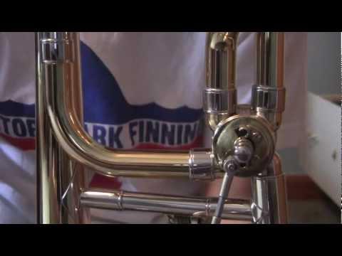 How to repair a loud Trombone rotary valve