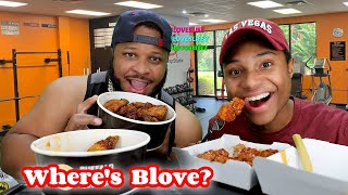 Fried Chicken Wings, Where's Blove? Stay at home v. Open Economy Discussion