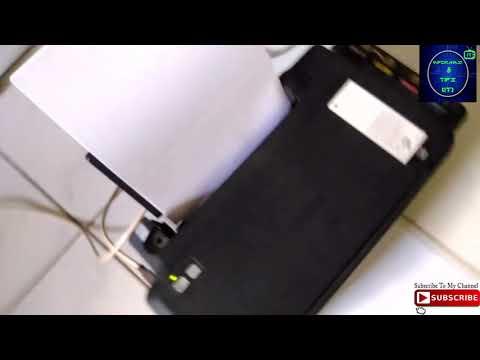 Cara mengatasi tinta printer epson L120 L110 L210 L220 macet tidak keluar