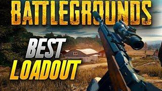 Battlegrounds: MY BEST LOADOUT TO WIN ! (Playerunknown