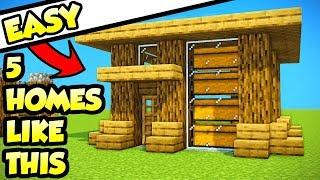 minecraft starter house Videos - 9tube tv