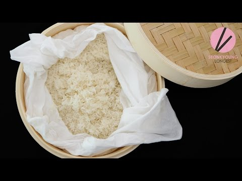 How to Make Thai Sticky Rice