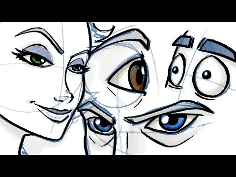 How to Draw Eyes for Comic and Cartoon Characters