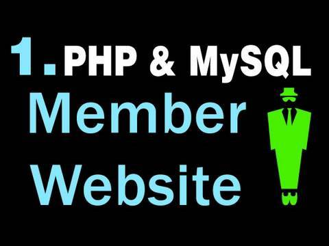 1. How to Create A Basic Membership Website System Using PHP and MySQL Tutorial