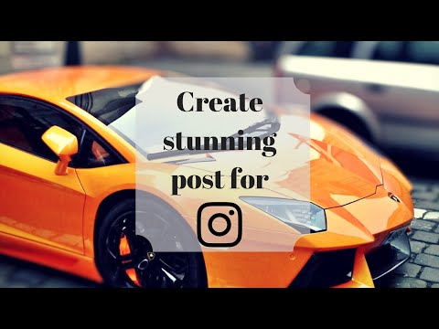 How To Make Instagram Post | Canva Tutorial