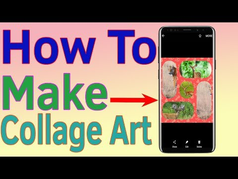 How To Make Collage   How To Make Collage Art- Helping Mind