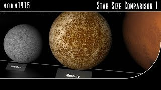 Star Size Comparison HD