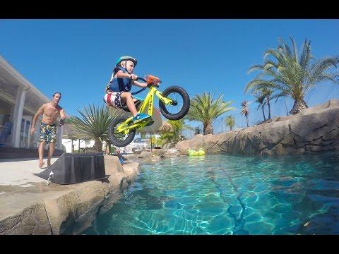 Kruz Maddison Balance Bike Pool Jump