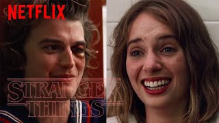 The Full Robin & Steve Bathroom Coming Out Scene | Stranger Things S3