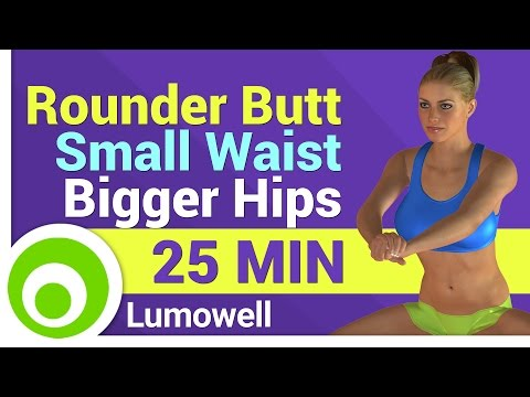 Rounder Butt, Small Waist and Bigger Hips - Curvy Body Workout