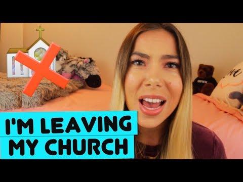 LEAVING MY CHURCH: A POEM