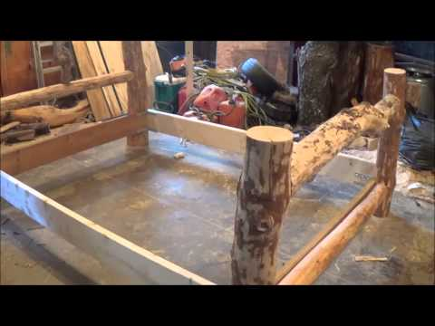 The Log Bed. Using Your Imagination. The Footboard Takes Shape. Part 4.