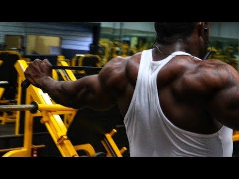 The Ultimate Shoulder Workout!!! Circuit Training For Mass!!!
