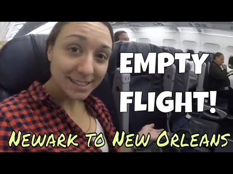 NEW GIMBAL + Flying from NEWARK, NJ to NEW ORLEANS, LA  //  118