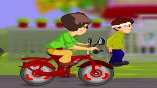 ACCIDENT | TINTU MON NON STOP COMEDY | MALAYALAM COMEDY ANIMATION STORY