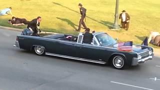 JFK MOTORCADE RE-ENACTMENT (OCTOBER 8, 2015)