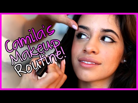 Fifth Harmony - Camila's MakeUp Routine - Fifth Harmony Takeover Ep. 37