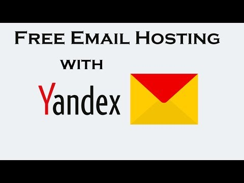 How to host Email with your own domain free using Yandex Mail