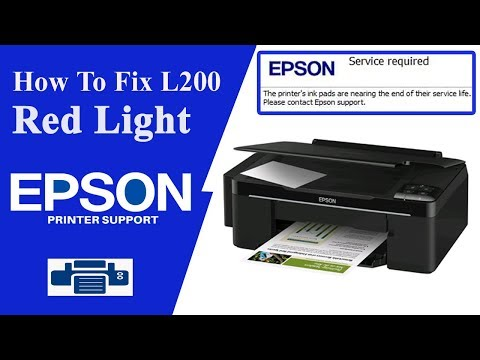 Epson L200 Resetter - Service required