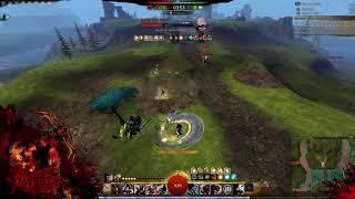 GW2-WvW roaming Warrior Spellbreaker Outnumbered[Patada