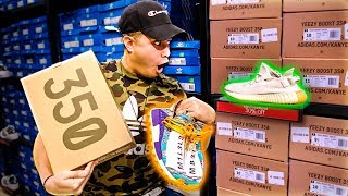 BUYING YEEZYS AT ADIDAS OUTLET!!