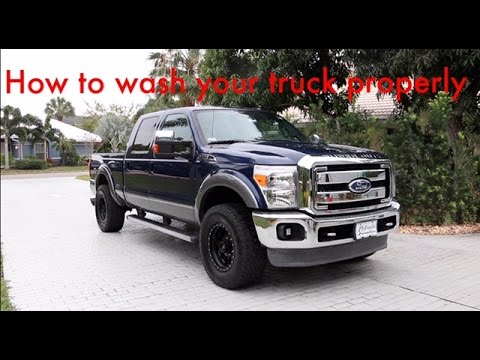 How to Wash your Truck/Car PROPERLY