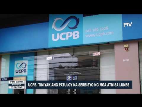 UCPB, tiniyak ang tuloy na serbisyo ng mga ATM sa Lunes