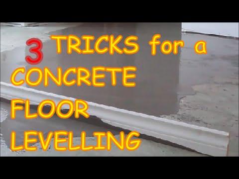 DIY Concrete Floor Leveling: 3 Tricks How-to - MrYoucandoityourself