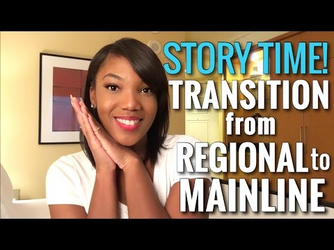 Flight Attendant Life | Transition from Regional to Mainline in Less Than 1 Year | Plus a Room Tour!