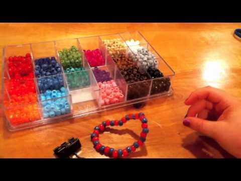 How to make a kandi/pony bead scrunchie
