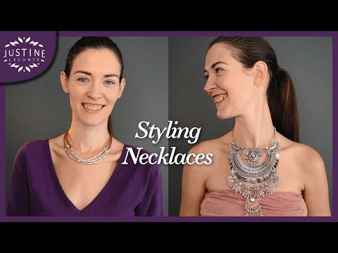 How to style (statement) necklaces |