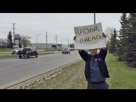 Photo-radar warning lands Edmonton man $540 stunting ticket
