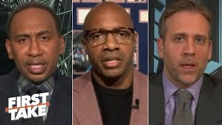 First Take discusses Jay Williams' proposal to hold the NBA playoffs on cruise ships
