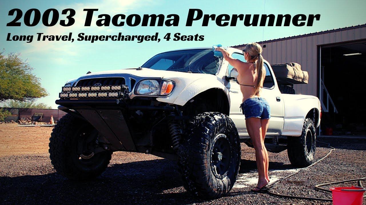 2003 Tacoma Prerunner Walkaround Long Travel, Supercharged, 4 Seats, RTT Prelander